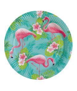 Flamingo Paradise tallerken 23 cm