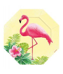 Flamingo Tallerkner 18 cm