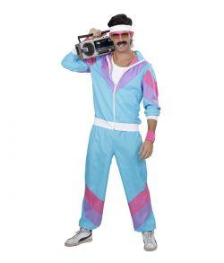80er joggingdragt til udklædning.