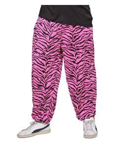 80er baggy bukser, pink