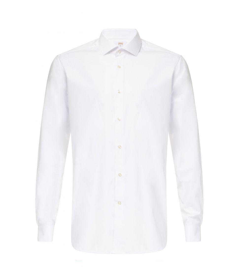 Hvid skjorte fra OppoSuits.