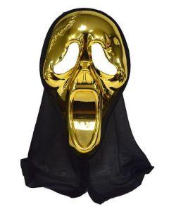 Scream maske Guld