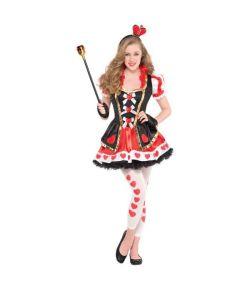 Flot Queen of Hearts kostume.