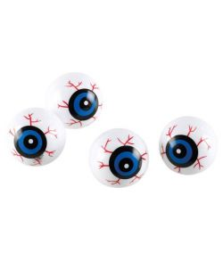 Blodige øjne til halloween.