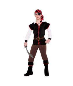 Pirat kostume til teenagere.