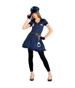 Flot politi kostume til teenagers.