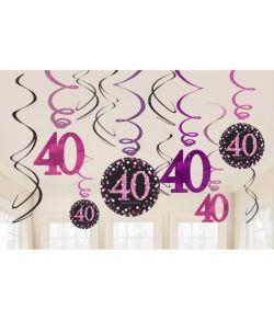 Loftspiraler sparkling 40 år