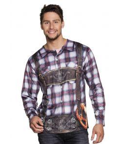 Flot tyroler t-shirt i god kvalitet til oktoberfesten.