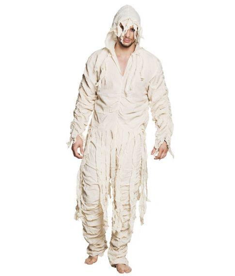 Laset mumie kostume til voksne.