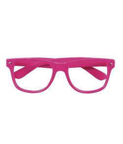 4 stk Neon briller PINK