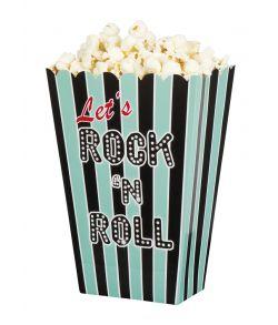 Popcorn bæger Rockn Roll