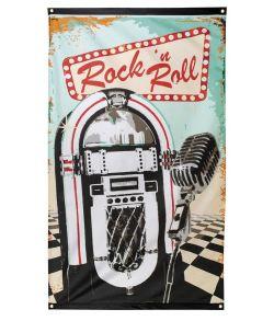 Rockn Roll flag 90x150 cm