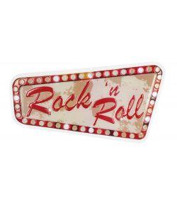 Rockn Roll skilt 33x60 cm