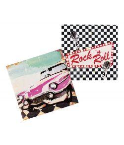 Rockn Roll servietter 33 cm