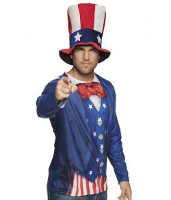 Uncle Sam Foto T-shirt
