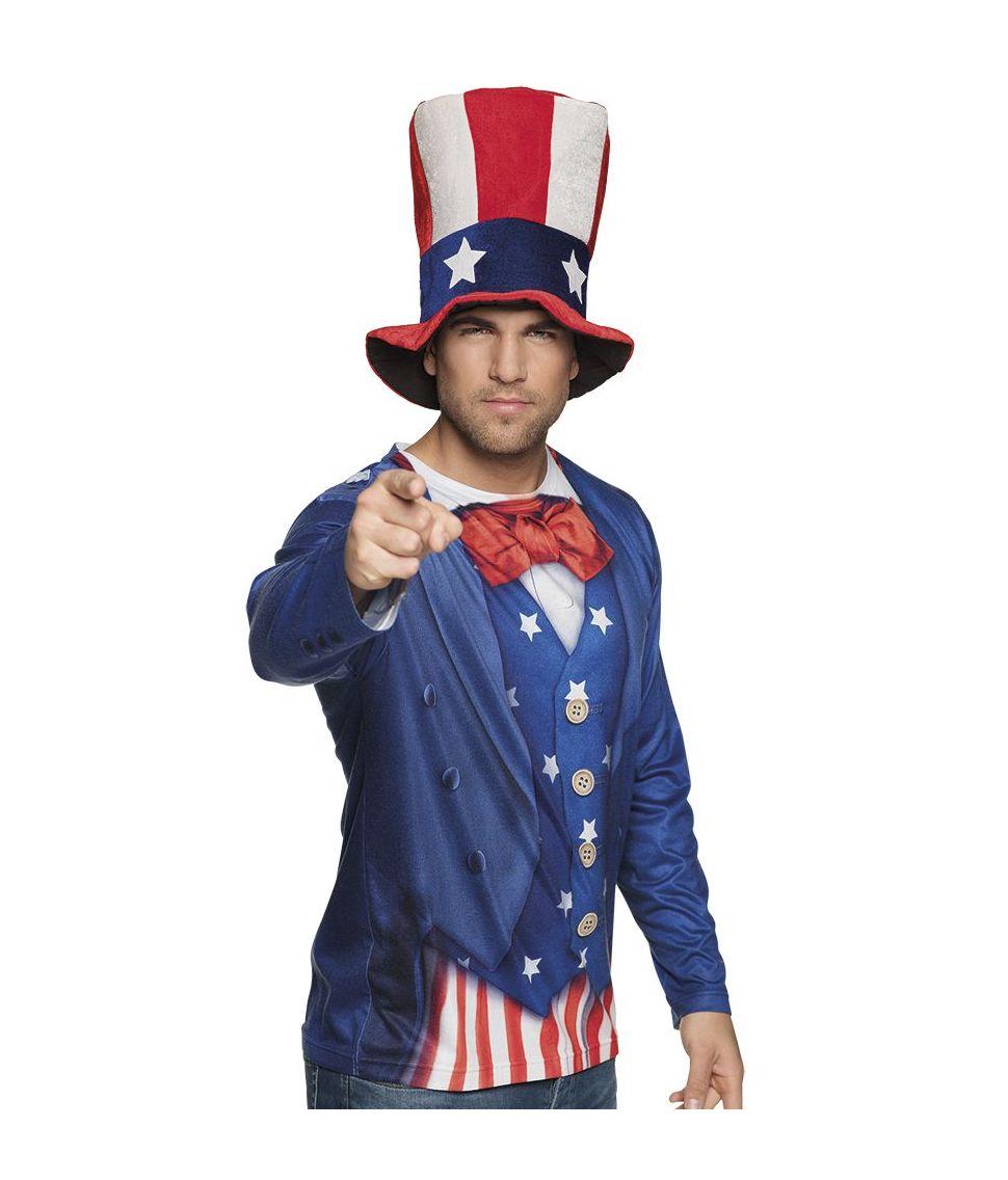 Uncle Sam Foto T-shirt