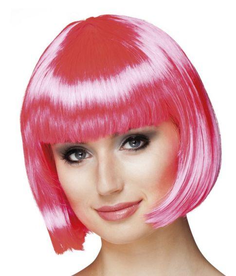 Cabaret Hot pink page paryk.