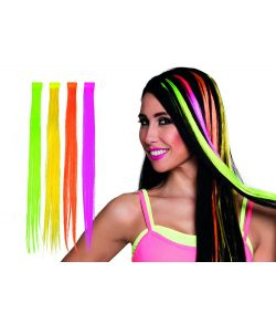 Neon hair extension