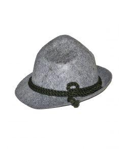 Bavarian hat med grønt bånd