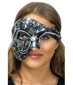 Steampunk One eye halvmaske.