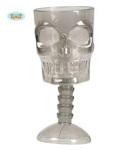 Kranie glas til Halloween.