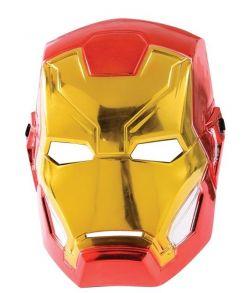 Iron Man Avengers maske i hårdt plastik.