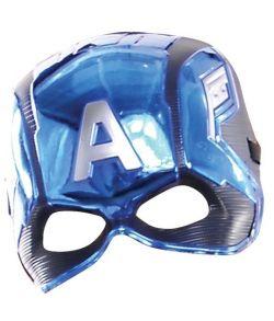 Captain America Avengers maske i hårdt plastik.
