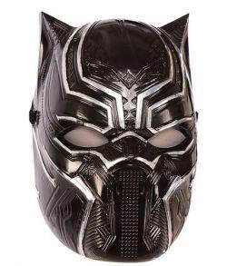 Black Panther Avengers maske i hårdt plastik.