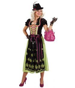 Flot Oktoberfest kjole.