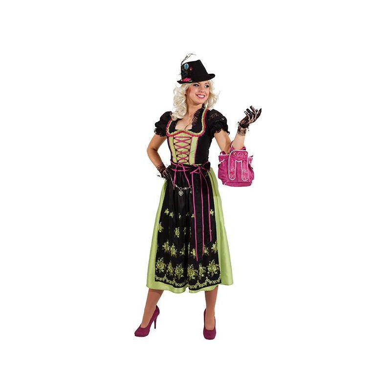 721953b2c3c2 Flot Oktoberfest kjole.