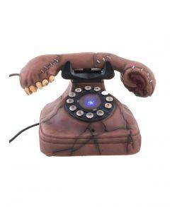 Hjemsøgt telefon til halloween.