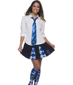 Ravenclaw slips med emblem til børn og voksne. Harry Potter.