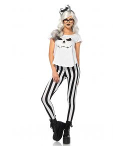 Smart skelet kostume fra Leg Avenue til halloween udklædningen.