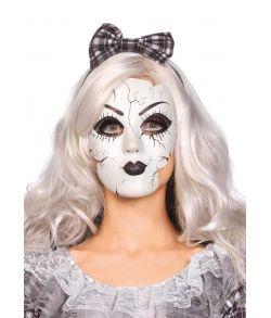 Porcelæn dukke maske til voksne.