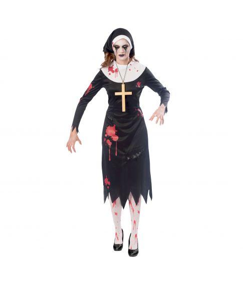 Halloween kostume damen nonne
