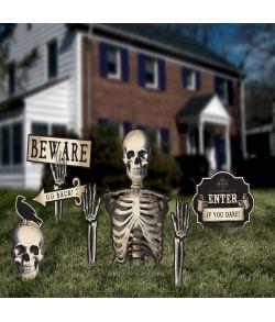Kirkegård advarselsskilte.