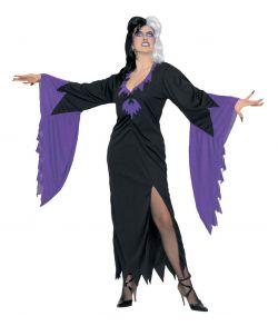 Mortisia halloween kostume.