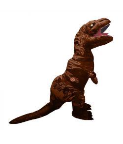 Oppustelig T-Rex dinosaur kostume