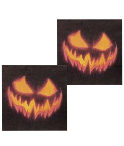 Creepy Pumpkin servietter.