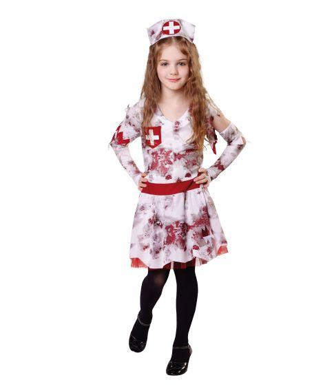 Zombie Nurse kostume til piger.