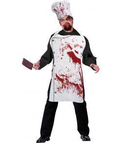Blodigt kokkesæt til halloween.