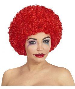 Billig røde afroparyk.