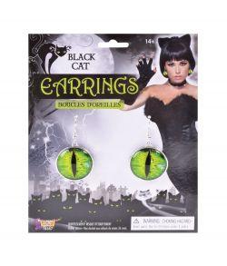 Katte øjne øreringe.