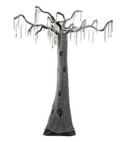 Uhyggeligt Træ til halloween.