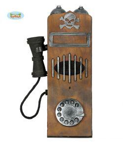 Hejmsøgt telefon til halloween.