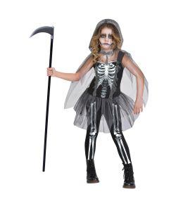 Skeleton Reaper kostume til piger.