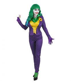 Mad Joker kostume til Halloween.