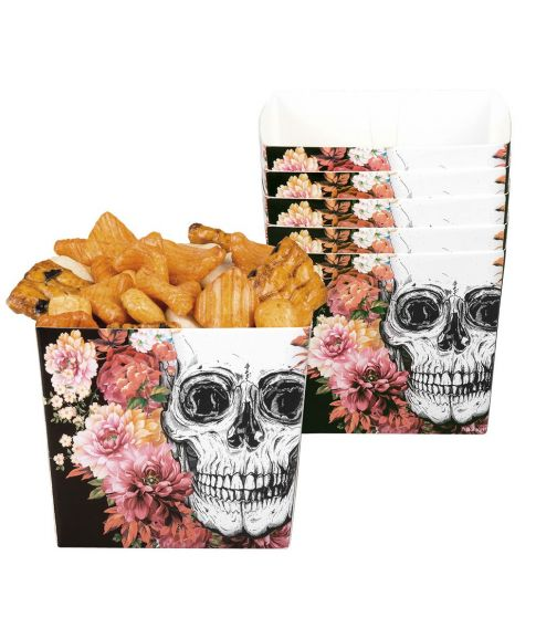 Day of the Dead chips bægre.