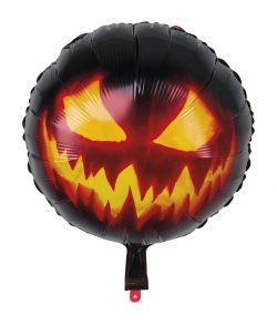 Creepy Pumpkin folieballon.