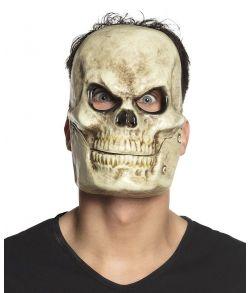 Kranium maske med bevægelig kæbe.